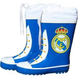 Botas agua azules cierre ajustable Real Madrid