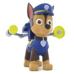 Figura Chase Patrulla Canina Paw Patrol 5cm