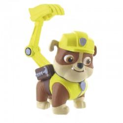 Figura Rubble Patrulla Canina Paw Patrol 7cm