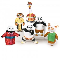 Peluche Kung Fu Panda 27cm soft surtido
