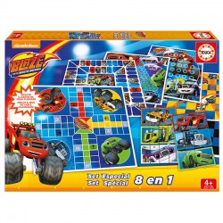 Set juegos 8 en 1 Blaze and the Monster Machine