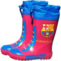 Botas agua FC Barcelona granate cierre ajustable