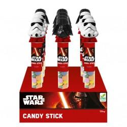 Figura tubo caramelos Star Wars surtido