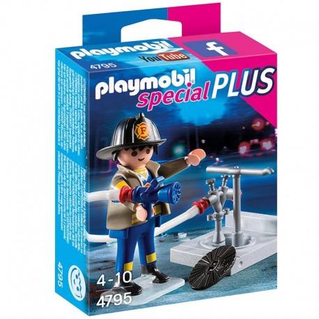 Bombero manguera Playmobil Special Plus