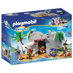 Cueva Pirata Playmobil Super 4