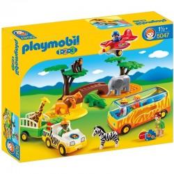 Gran Safari Africano Playmobil 1.2.3