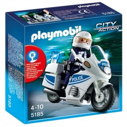 Moto Policia Playmobil City Action