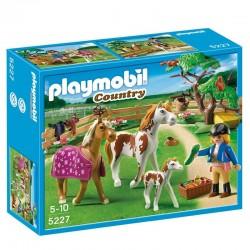 Cuidadora caballos Playmobil Country