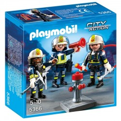 Equipo de Bomberos Playmobil City Action