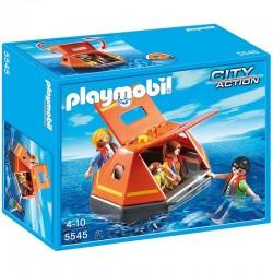 Balsa Salvavidas Playmobil City Action