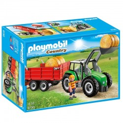 Tractor trailer Playmobil Country