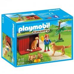 Golden Retrievers Playmobil Country