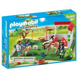 Prado caballos Superset Playmobil Country