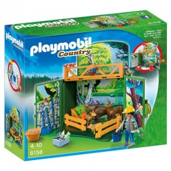Cofre Animales bosque Playmobil Country