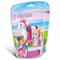 Princesa Rosa caballo Playmobil Princess