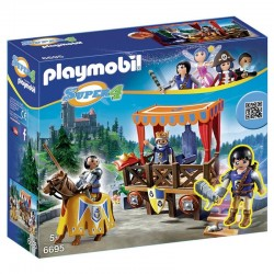 Tribuna real Alex Playmobil Super 4
