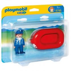 Hombre balsa Playmobil 1.2.3