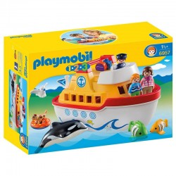 Maletin barco Playmobil 1.2.3