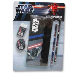 Darth Vader Star Wars stationey set