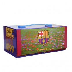 Caja dibujo baul FC Barcelona 54pz