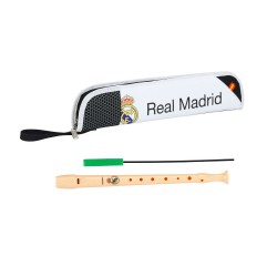 Set flauta honher + portaflautas Real Madrid