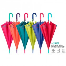 Paraguas automatico Color surtido 61cm