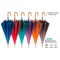 Paraguas automatico Color Degradado surtido 61cm