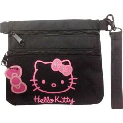 Portatodo doble con asa Glitter Hello Kitty