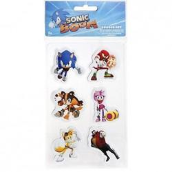 Set borradores Sonic