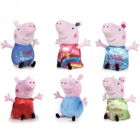 Peluche Peppa Pig Happy Oink surtido 20cm