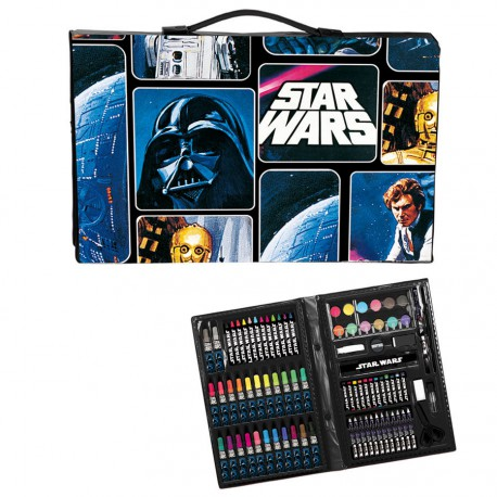 Maletin artista Star Wars Space 87pz