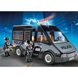 Furgon Policia Playmobil City Action luces sonido