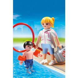 Parque acuatico toboganes Playmobil Summer Fun