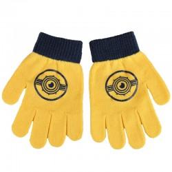 Conjunto gorro guantes braga cuello polar Minions