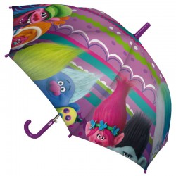 Paraguas Trolls 42cm surtido