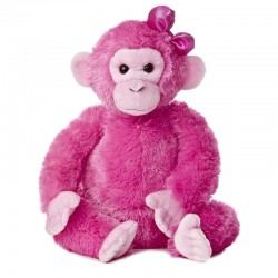Peluche Mono Rosa Destination Nation 32cm