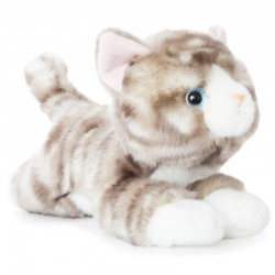 Peluche Gato gris Luv to Cuddle 28cm