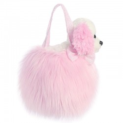 Peluche Fancy Pal Cocker Spaniel rosa 21cm