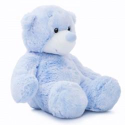 Peluche Oso Aurora Baby azul 23cm