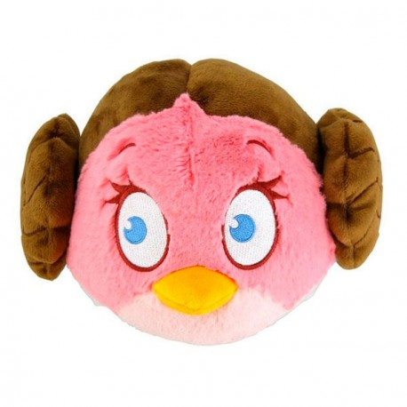 Peluche Leia Angry Birds Star Wars 13cm