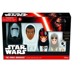 Set figuras Star Wars Episodio VII El despertar de la Fuerza