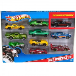 Blister 10 coches Hot Wheels 10 surtido