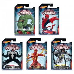 Coche Hot Wheels Spiderman Marvel surtido