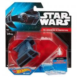 Darth Vader`s Tie Advanced X1 Prototype Hot Wheels