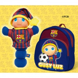 Gusy Luz + mochila FC Barcelona