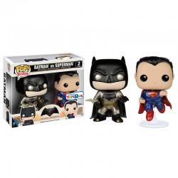 Set figuras POP Vinyl Batman + Superman DC