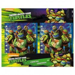 Libreta Tortugas Ninja A6