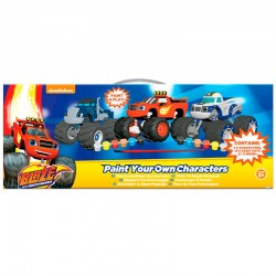 Pinta a tus personajes Blaze and the Monster Machines