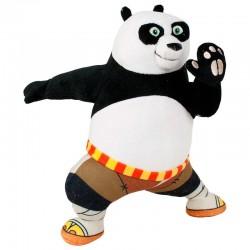 Peluche Kung Fu Panda Action Po 36cm