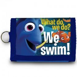 Billetera Buscando a Dory Disney We Swim